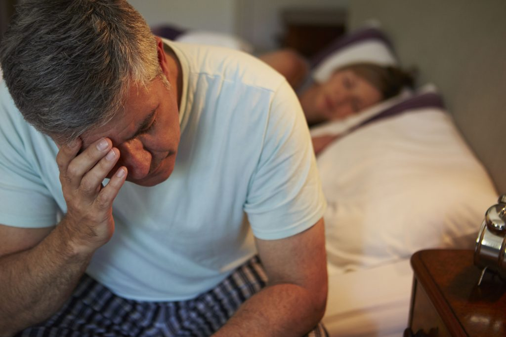 Consequences of nocturnal snoring and apnea breaks