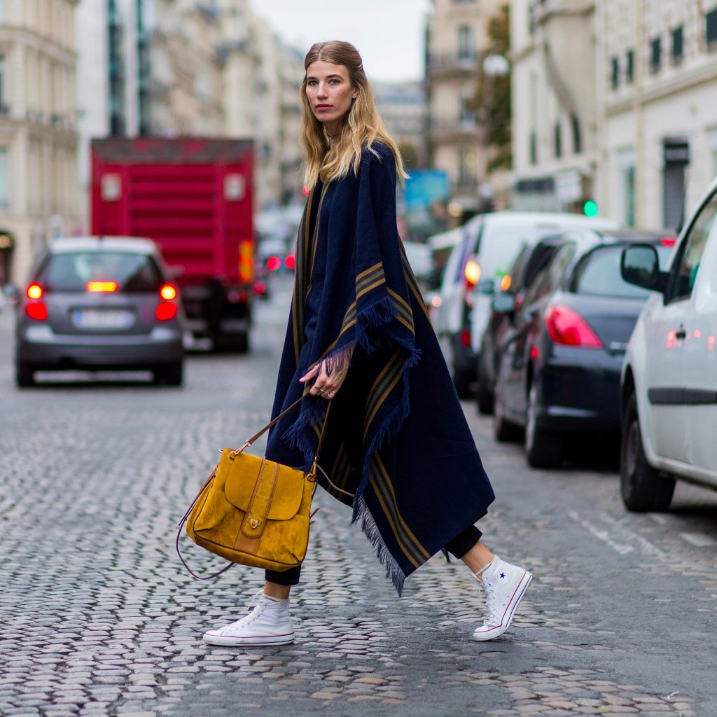 Dress With High Sneakers