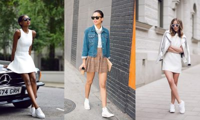 Dress with sneakers: learn how to use this stylish and comfortable combination