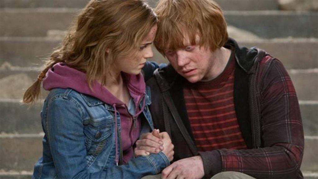 JK Rowling Regrets Hermione Ending Ron Instead Of Harry